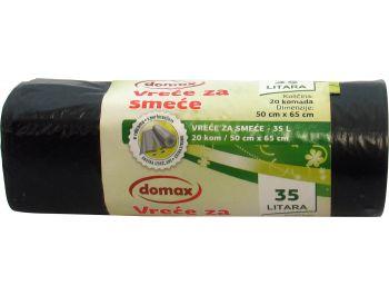 Domax vreće za otpatke zapremnina: 35 L 1 pak 20 kom