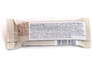 Energetska pločica datulje i sezam 28 g