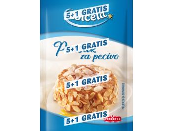 Podravka Dolcela prašak za pecivo 5+1 GRATIS 1 pak 6x12 g