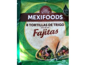 Mexifoods Fajitas Tortilje 8x20 cm 320 g