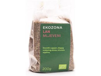 Ekozona BIO mljeveni lan200 g