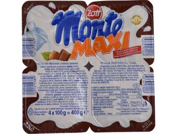 Zott Monte mliječni desert sa čokoladom i lješnjacima 100 g