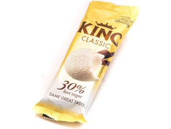 Ledo King classic sladoled 30% manje šećera 110 ml