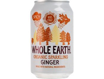 Whole Earth BIO gazirani napitak s okusom đumbira 330 ml