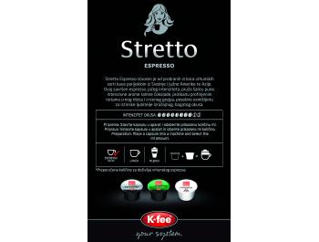 Franck Stretto Espresso kapsule 16 kom