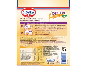Dr. Oetker zobena kaša vanilija i chia 50 g