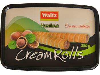 Waltz vafel rolice punjene kremom od lješnjaka 250 g
