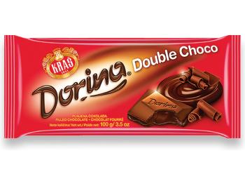 Kraš Dorina čokolada double choco 100 g