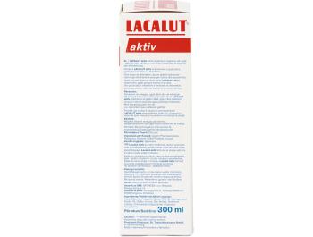 Lacalut Aktiv Otopina za njegu usne šupljine i zubi 300 ml