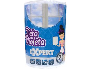 Teta Violeta papirnati ručnik troslojni Expert 1 rola