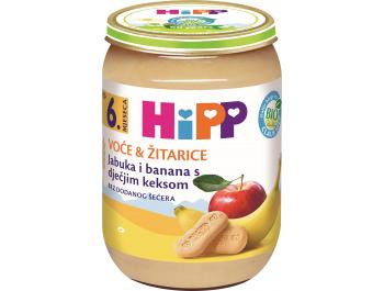 Hipp dječja hrana jabuka banana i keks 190 g