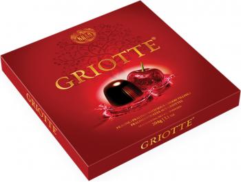 Kraš Griotte praline s alkoholno punjenjem i višnjom 204 g