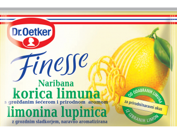 Dr. Oetker začin korica limuna 2x6 g