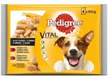Pedigree hrana za pse s piletinom i povrćem 1 pak 4x100 g