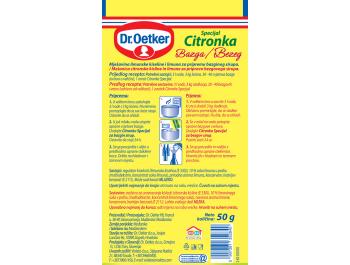 Dr.Oetker citronka special za bazgin sirup 50 g
