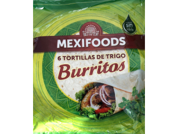 Mexifoods Wraps pšenične tortilje Ø25cm 370 g