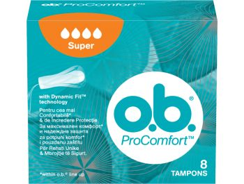 O.b. Comfort Tampon super 8 kom
