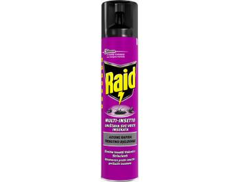 Raid Sprej protiv svih vrsta insekata 400 ml