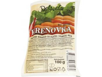 Delicato hrenovke pileće i pureće 100 g