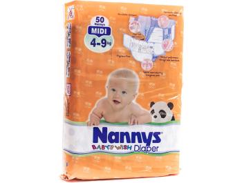 Nanny's Pelene Baby midi 50 kom