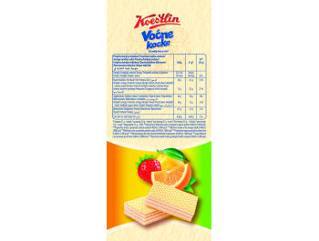 Koestlin vafel voćne kocke 740 g