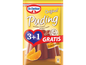 Dr.Oetker original puding čokolada 3+1 gratis 4x49 g