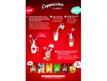 Franck Classic instant cappuccino 112 g