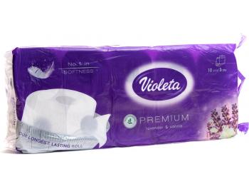 Violeta toaletni papir troslojni Premium lavanda i vanilija 10 rola