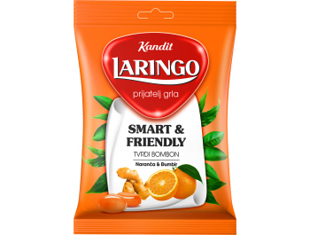 Kandit Laringo Bomboni naranča i đumbir 80 g