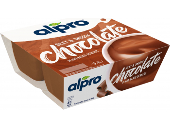 Alpro desert od soje s okusom čokolade  4x125 g