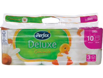 Perfex toaletni papir troslojni kamilica 10 rola