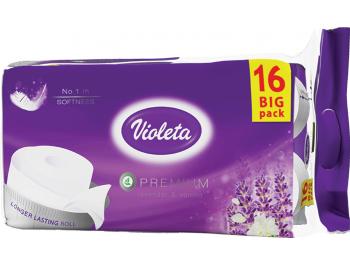 Violeta toaletni papir lavanda premium troslojni 16 rola