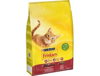 Friskies Hrana za mačke jetra i povrće 1,5 kg