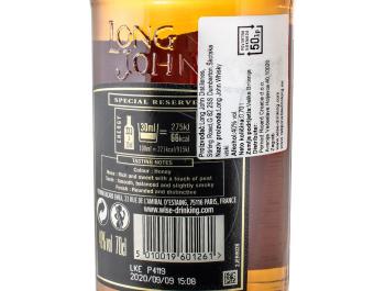 Long John whiskey 0,7 L