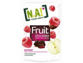 Nature Addicts voćni prutići jabuka i malina s čokoladom 35 g