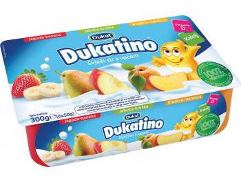Dukat Dukatino svježi sir s voćem 6 x 50 g