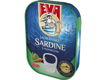 Podravka Eva jadranske sardine s povrćem 115 g