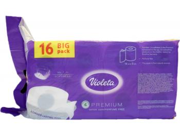 Violeta toaletni papir troslojni premium cotton 1 pak 16 rola