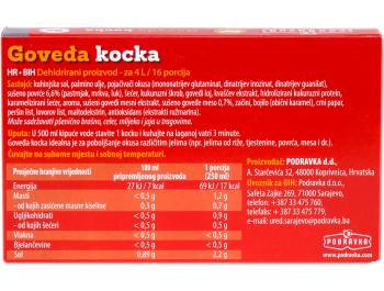 Podravka Goveđa kocka, 12x10 g