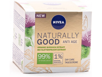 Nivea Naturally Good dnevna krema protiv bora 50 ml