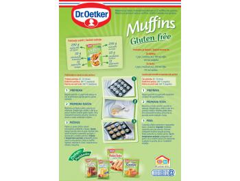 Dr.Oetker mješavina za muffine bez glutena 340 g
