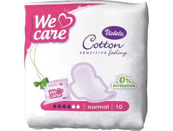 Violeta ulošci Cotton 10 kom