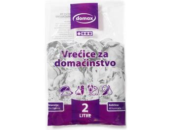 Domax vrećice za domaćinstvo zapremnina 2 L