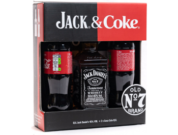 Jack Daniel's whiskey 0,5 L+ 2 x Coca-Cola 0,5 L