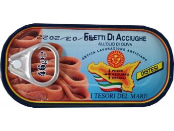 Fileti slanih inćuna u maslinovom ulju 46 g