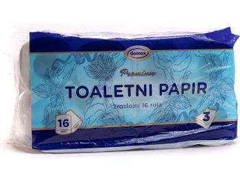 Domax Toaletni papir troslojni 16 rola