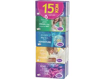 Violeta papirnate maramice Color 15 kom