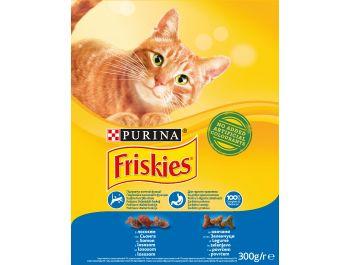 Friskies Hrana za mačke losos i povrće 300 g